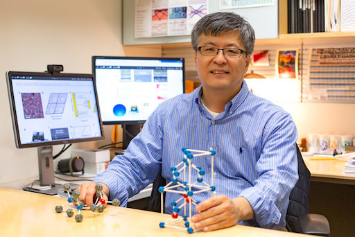 Dr. Kyeongjae Cho, professor of materials science and engineering, and his UT Dallas collaborators developed the fundamental physics of a multi-value logic transistor based on zinc oxide.