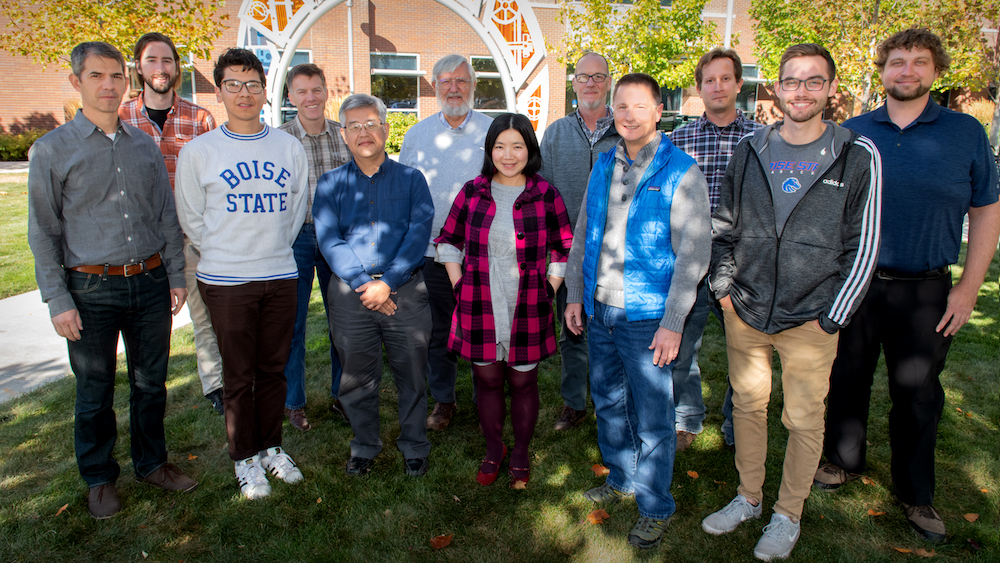 Photo Patrick Sweeney. Material sciences research team - Interdisciplinary team awarded grants to pursue quantum computing and entanglement research