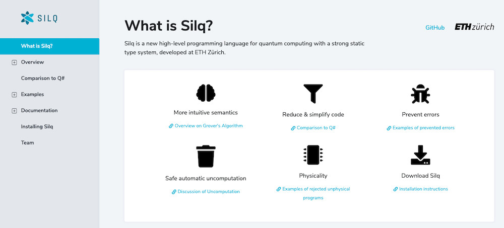 Release of Silq: A High-level Quantum Language