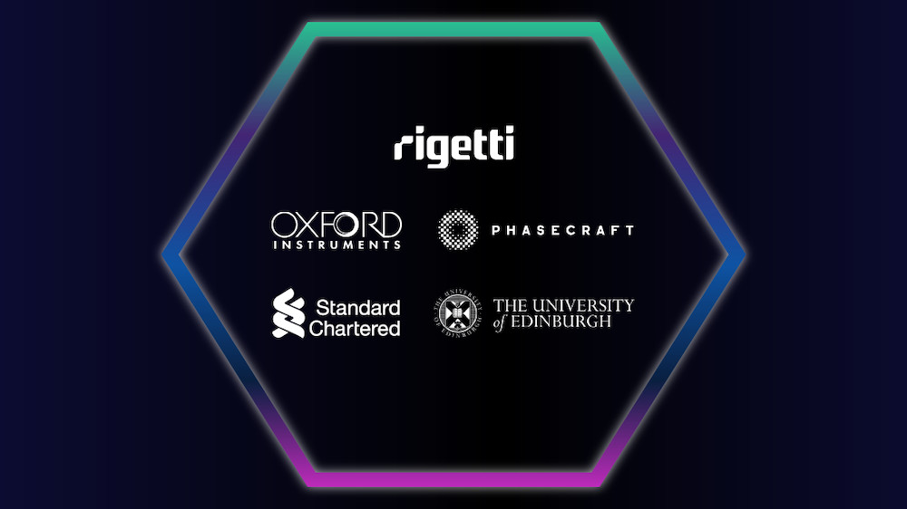 The Rigetti-led consortium to bring the first commercial quantum computer to the UK includes Oxford Instruments, University of Edinburgh, Phasecraft and Standard Chartered Bank.