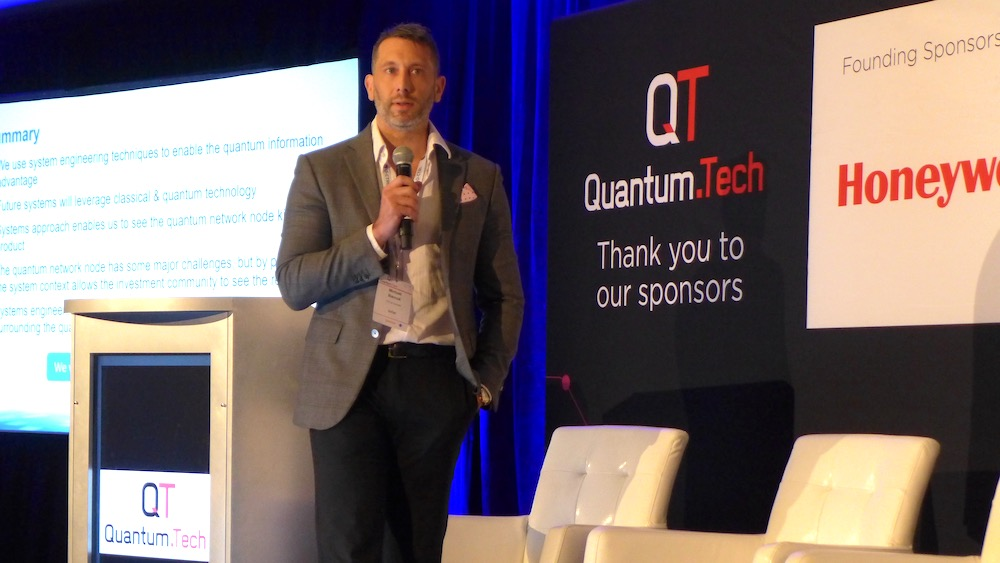 Michael J. Biercuk, founder and CEO of Q-CTRL - Photo Philippe Nieuwbourg