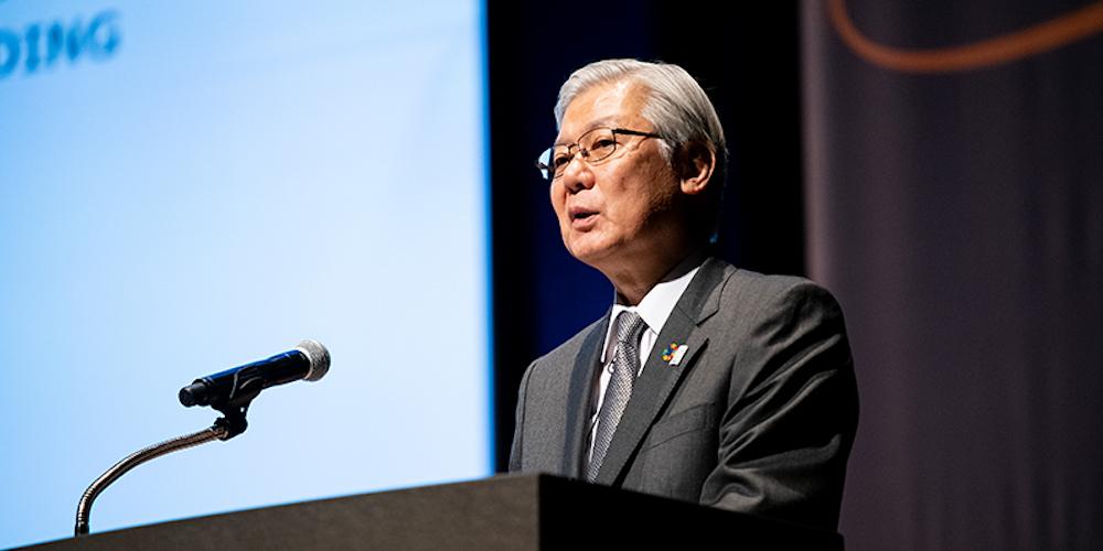 Takashi Niino, President and CEO (Representative Director), NEC Corporation