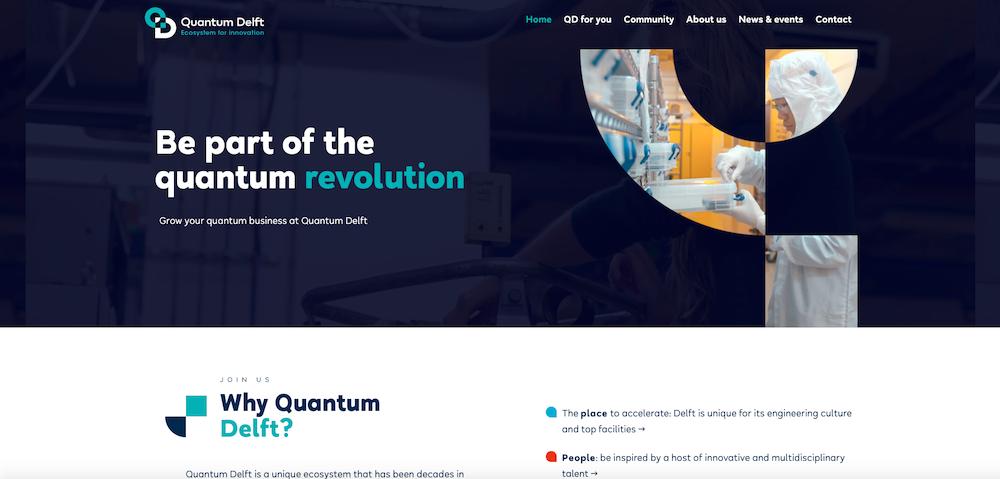 Quantum Delft website launched