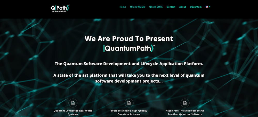 aQuantum presents |QuantumPath>, The First Quantum Software Development and Application Lifecycle Platform