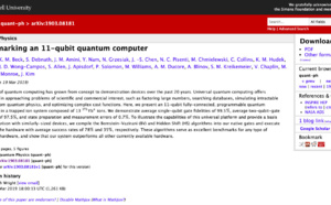 IonQ publishes new benchmarks for quantum computation