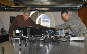​Air Force Research Laboratory demonstrates world's first daytime free-space quantum communication enabled by adaptive optics