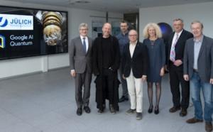 Forschungszentrum Jülich and Google announce research partnership