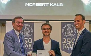 QuTech Researcher Norbert Kalb wins Steven Hoogendijk Prize 2019