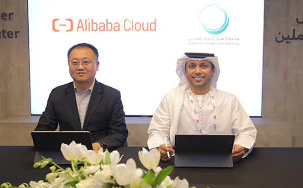 ​DEWA signs MoU with Alibaba Cloud to support innovation through Tianchi platform