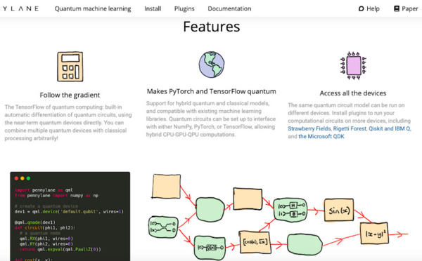 Xanadu Releases PennyLane, the First Dedicated Machine Learning Software for Quantum Computers