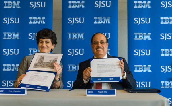 SJSU and IBM Announce New Collaboration—First of its Kind on the West Coast