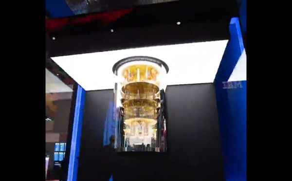 ​IBM presents a 360 degrees view of its quantum computer