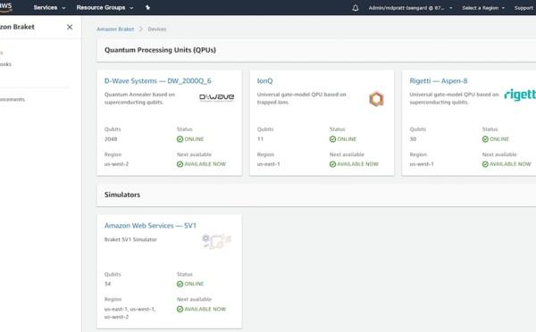 Amazon AWS Announces General Availability of Amazon Braket
