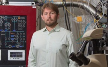 ORNL quantum computing scientist Travis Humble. Image credit: Carlos Jones, ORNL